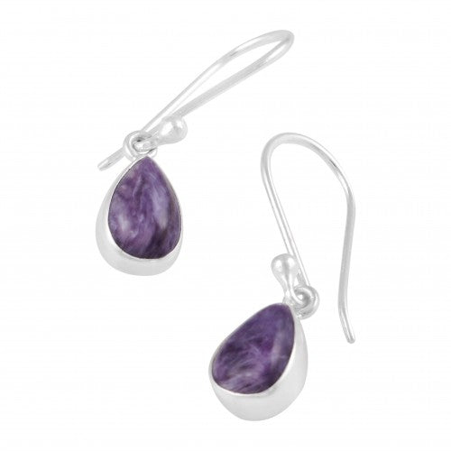 Earrings Charoite Were $95