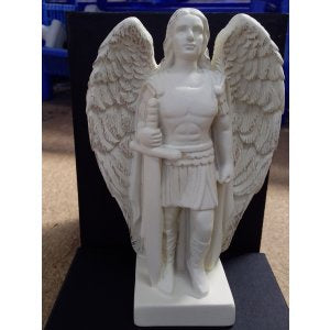 Archangel Michael Ivory and Gold 13.5 cm | Carpe Diem With Remi