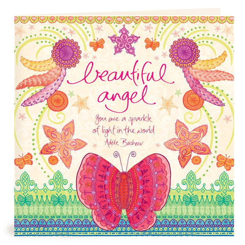Beautiful Angel You Are Card | Carpe Diem with Remi