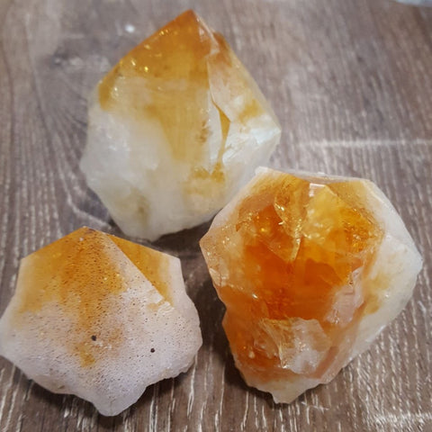 Citrine Point Polished TopRing | Citrine | Carpe Diem with Remi