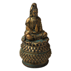 Incense Burner Kwan Yin Smoking | Carpe Diem With Remi