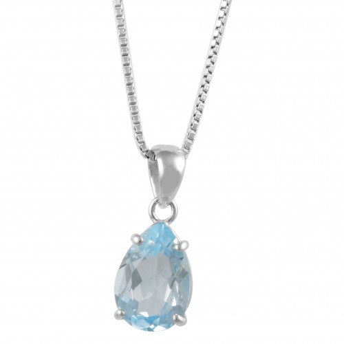 Pendant Blue Topaz | Carpe Diem With Remi