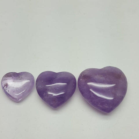 Amethyst | Heart | Assorted Sizes | Carpe Diem with Remi