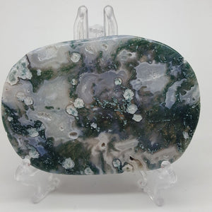 Moss Agate Slice | Carpe Diem with Remi