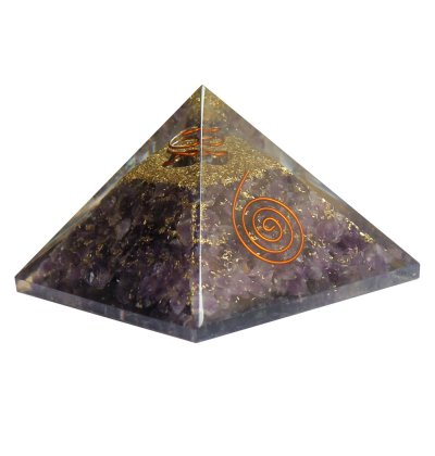 Orgonite Pyramid Amethyst | Carpe Diem with Remi