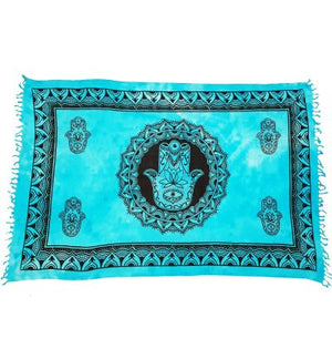 Cloth Hand of Fatima Turquoise | Carpe Diem With Remi