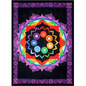 Rainbow Chakra Tapestry | Carpe Diem With Remi