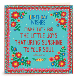 Birthday Wishes Sunshine Birthday Card | Carpe Diem With Remi