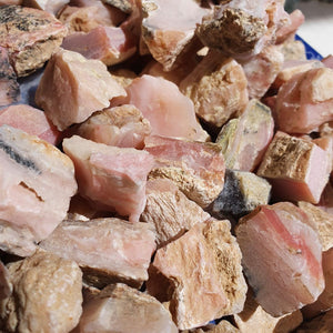 Pink Opal Raw Chunks From | Carpe Diem with Remi