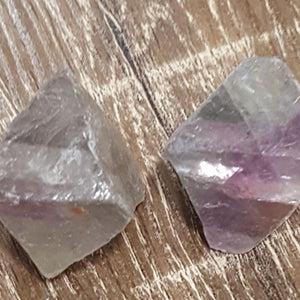 Fluorite | Octahedron | Rainbow | Raw | Carpe Diem with Remi