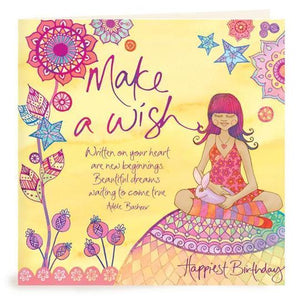 Make A Wish Birthday Card | Carpe Diem With Remi