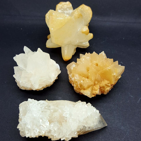 Calcite Dog Tooth Cluster | Carpe Diem with Remi