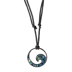 Choker Wave Large Paua Shell | Carpe Diem With Remi