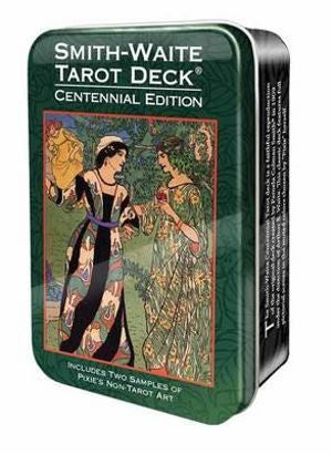 Smith-Waite Tarot Deck Centennial Edition Tin | Carpe Diem With Remi