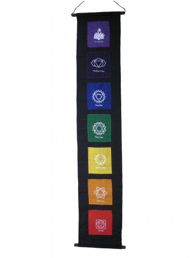 Banner Chakra Symbols Black - Carpe Diem With Remi