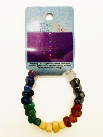 Bracelet | Chakra | Tumbled | Nuggets | Carpe Diem with Remi