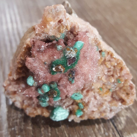 Dolomite | Selenite | Malachite | Specimen | Carpe Diem with Remi