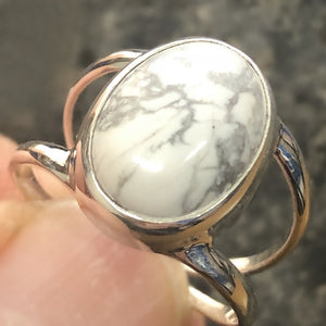 Ring White Howlite Size 9 | Carpe Diem With Remi