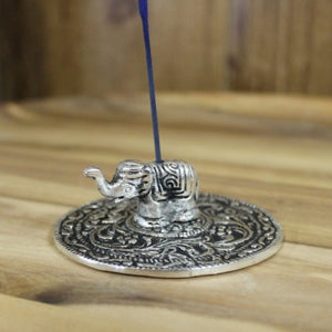 Incense | Burner | Elephant | Silver | Carpe Diem with Remi