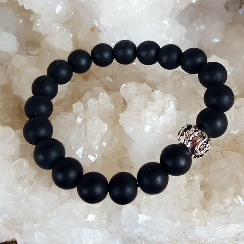 Bracelet Black Onyx Dragon | Carpe Diem with Remi