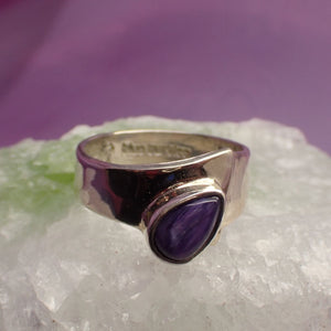 Ring Charoite Size 8 | Carpe Diem with Remi