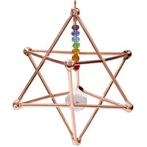 Merkabah | Copper | Chakra | Suncatcher | Carpe Diem with Remi