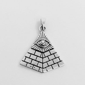 Pendant | Pyramid | with | Eye | Carpe Diem with Remi