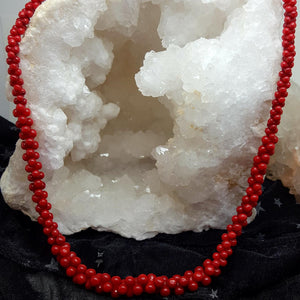 Necklace | Red Coral | Variants | Carpe Diem with Remi