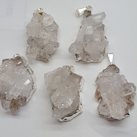 Pendant | Clear Quartz Cluster | Multi-Select | Carpe Diem with Remi