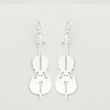 Earring Silver Cello | Carpe Diem With Remi