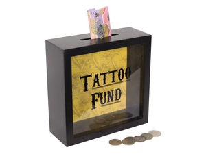 Money Box Tattoo Fund | Carpe Diem with Remi