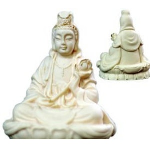 Quan Yin Ivory Holding Child 62mm | Carpe Diem With Remi