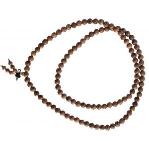 Mala Bead Necklace Menge Wood 8mm | Carpe Diem With Remi