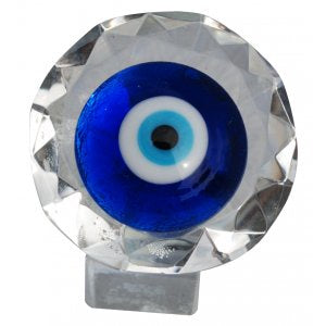Evil Eye On Stand Crystal
