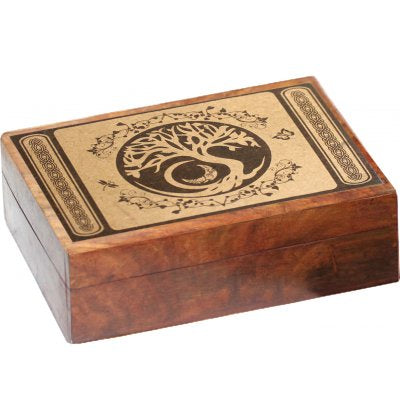 Box Tree of Life Wood  5 x 7"