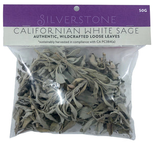 White Sage Loose 50 Gram | Carpe Diem With Remi