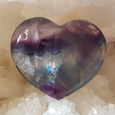 Puff Heart Fluorite | Carpe Diem with Remi