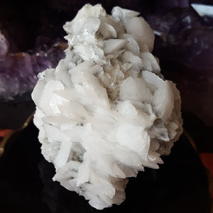 Calcite | Milky | Cluster | Carpe Diem with Remi