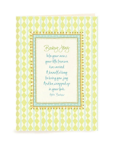 Baby Joy Card | Carpe Diem with Remi