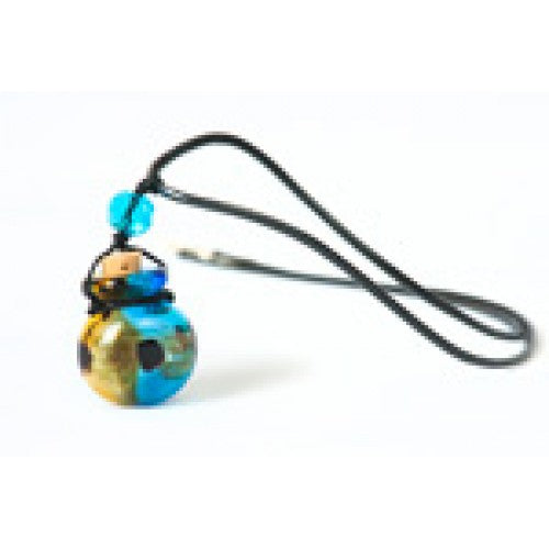 Aroma Pendant | Hand Blown Glass | Carpe Diem with Remi