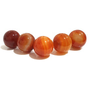 Sphere Crystal 3 cm | Carnelian | Carpe Diem With Remi