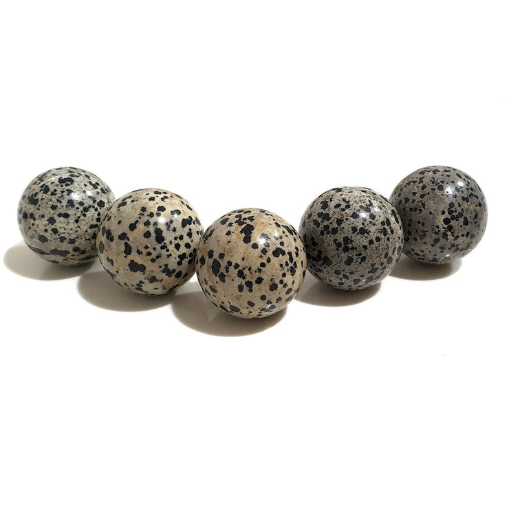Sphere Crystal 3 cm | Dalmation | Carpe Diem With Remi
