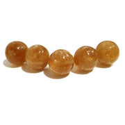 Sphere Crystal 3 cm | Honey Calcite | Carpe Diem With Remi