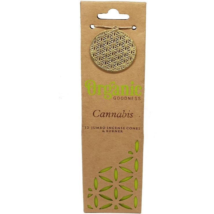 Organic Goodness Incense Cones | Cannabis | Carpe Diem With Remi