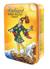 Radiant Rider Waite Tarot Deck in Tin | Carpe Diem with Remi