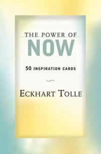 Power Of Now Inspiration Cards Eckhart Tolle