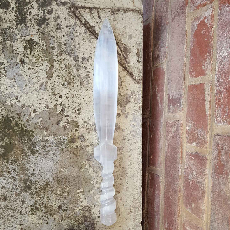 Selenite Sword