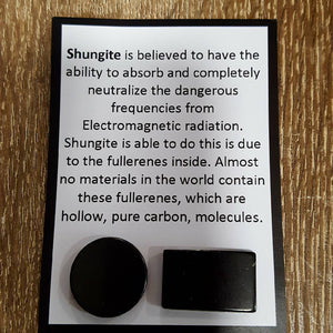 Shungite | Phone Protectors | Carpe Diem with Remi
