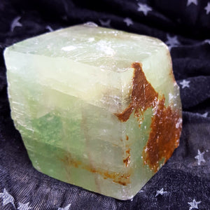Green Calcite Free Standing | Carpe Diem with Remi