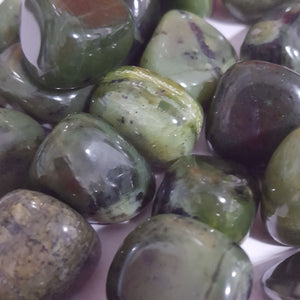 Jade Nephrite Tumbled Good Luck | Carpe Diem with Remi